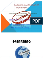 E-learning y M-learning