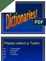 Dictionary Jeopardy