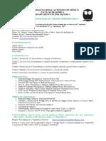Lineamientos Intersemestral de Termodinámica