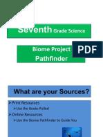 Seventh Grade Science