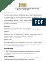 PRINCIPIUM Selecao 2011