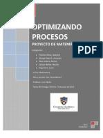 Optimizando Procesos