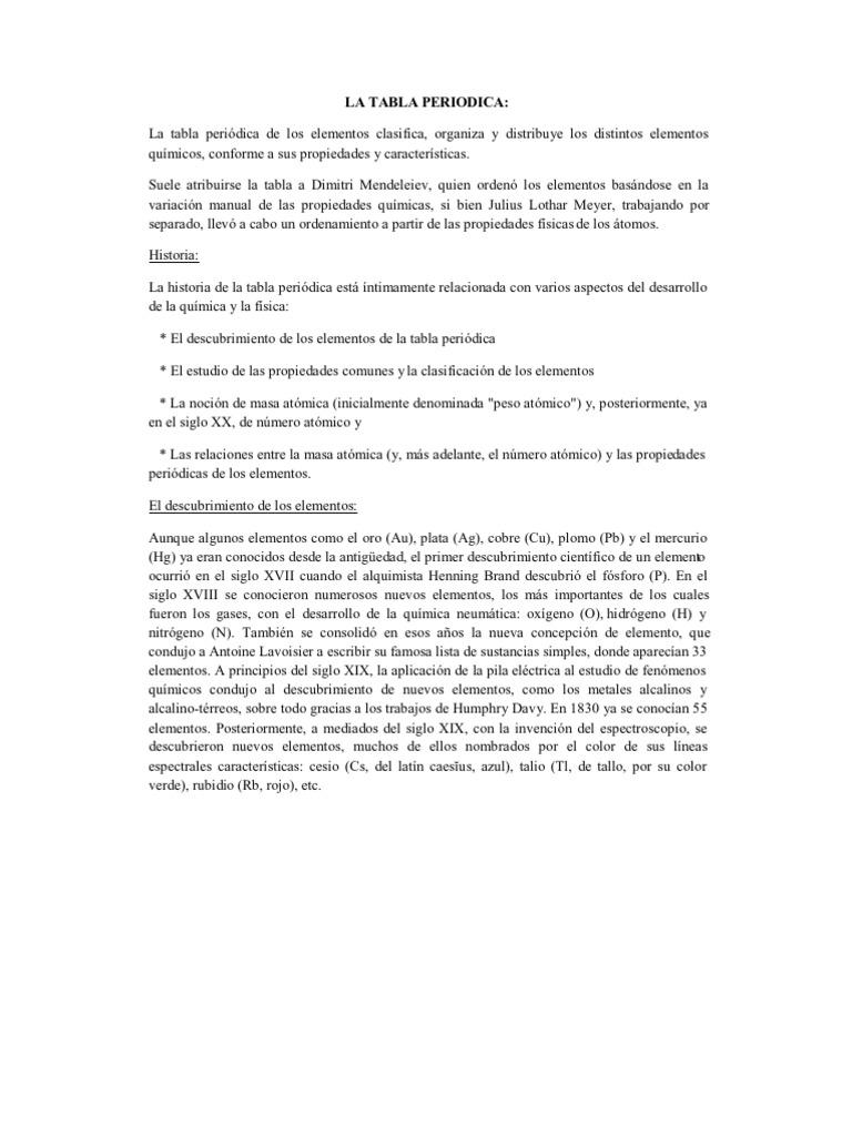 La tabla periodica j urtaz Image collections