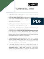 Síntesis Petitorio Confech