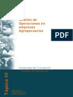 Gestion de Operaciones en Empresas Agropecuarias