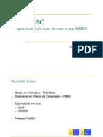 JAVA JDBD - Aplicação Java com Acesso a um SGBD