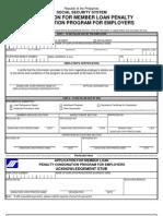 Loan Penalty Con Donation