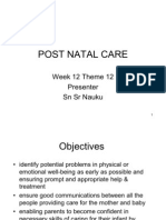 Post Natal Care