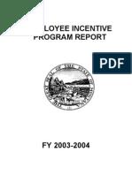 Incentive Report