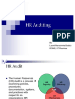 HR Auditing
