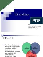 HR Auditing