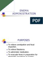 Skills Enema Administration
