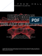Rusty Cooley the Art of Picking