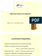 Proyectos Inversion Ismodes