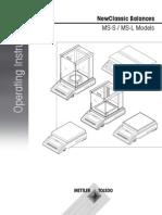 Operating Instructions MS-S MS-L (OP-En)