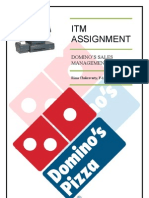 ITM Dominos Sales Mgmt Sys