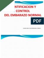 Identificacion y Control de Embarazo Normal