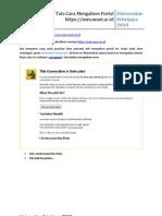 Tata Cara Akses Portal USM Unsri