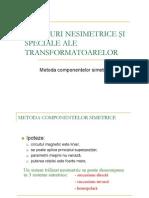 1-Regimul Nesimetric La Transform a to Are