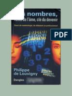 Les Nombres-Reflet De L'âme, Cle Du Devenir-Philippe De Louvigny