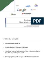Alternativen zu Google