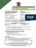 Information to Register Part I