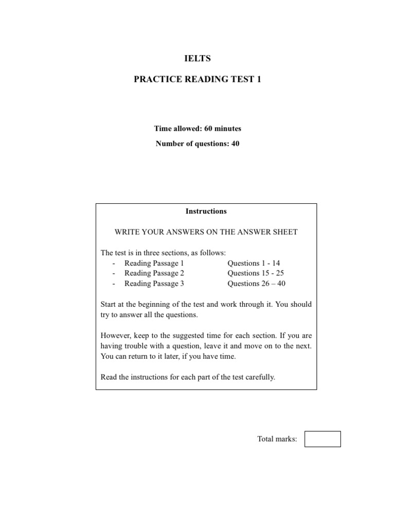 Ielts Reading Test 1 | General Circulation Model | Climate