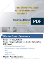 Effective Project Governance