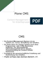 Plone CMS