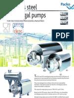 FP2 FP3 CRP 49691A Sanitary Pump