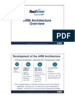 ARM Architecture Overview