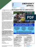 CFSI Mindanao Emergency Appeal 17Jun11