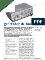 Generador de Funciones Xr2206 674
