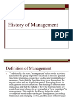 History of Management (3)