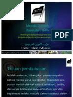 Materi 03 Metode Dakwah Rasul