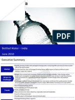 Bottled Water Market in India 2010 Sample 100618042808 Phpapp02