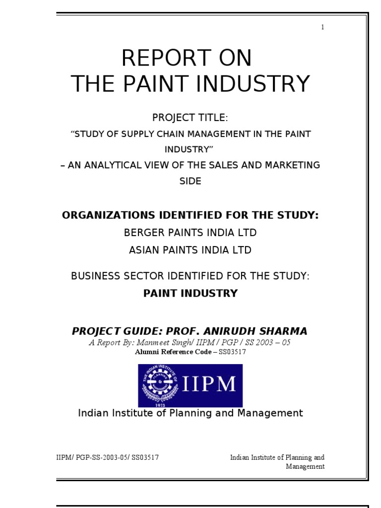 Asian paints marketing plan