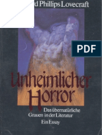 Love Craft, H. P. - Unheimlicher Horror