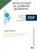 Dysfunctional Uterine Bleeding-Sumate