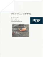 Mali Gold Mine PDF.