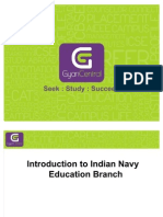 Introduction to Indian Navy Education Branch
