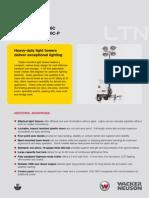 Wacker LTN6 light tower specs pdf