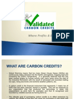 VCS & Gold Standard Carbon Credits at Discounted Prices!