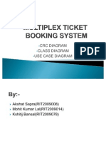 Multiplex Ticket Booking System