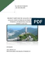 Regie..Analiza Indicatorilor de Per for Manta Turistica in Regiunea Geografica America de Sud