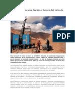Corema de Atacama decide el futuro del valle de Copiapó