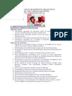 PROGRAMA ACTIVITATILOR INSTRUCTIV