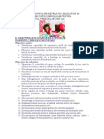 PROGRAMA ACTIVITATILOR INSTRUCTIV
