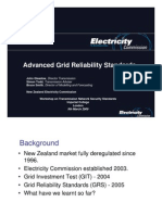 2 Grid Reliability Standards New Zeal And