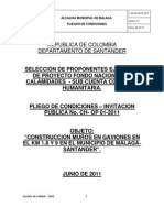 Pliegos de Condiciones-colombia Humanitaria-gaviones